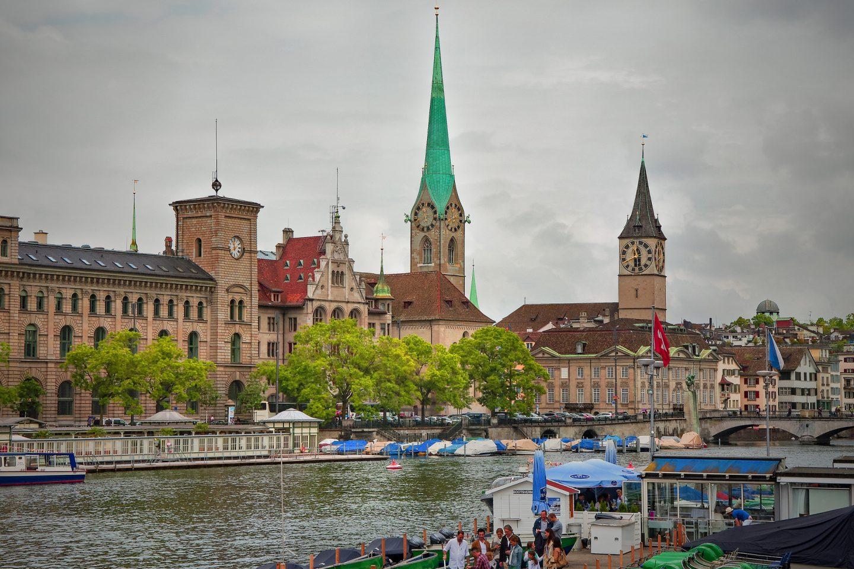 Solo in Zürich